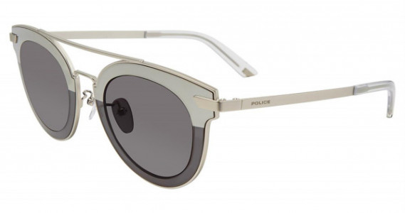 Police SPL349 Sunglasses, Matt Palladium 581