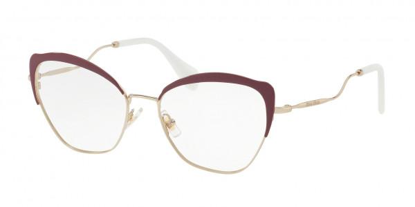 b7783c3d71 Miu Miu MU 54PV Eyeglasses - Miu Miu by Prada Authorized Retailer ...