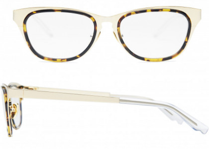 Coco and Breezy Coco and Breezy August Eyeglasses, 101 Shiny Gold-Tortoise