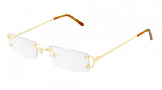 Cartier CT0092O Eyeglasses, 001 - GOLD