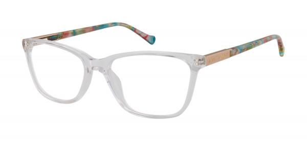 83f6738781d Betsey Johnson Crystal Clear (Petite) Eyeglasses - Betsey Johnson ...