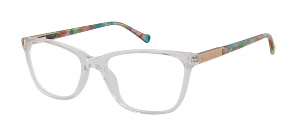 Betsey Johnson Crystal Clear (Petite) Eyeglasses
