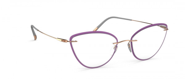 Silhouette Dynamics Colorwave Core. Accent Rings jc Eyeglasses