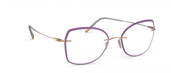 Silhouette Dynamics Colorwave Core. Accent Rings jd Eyeglasses