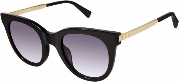 Rebecca Minkoff Stevie 5/S Sunglasses, 02M2 Black Gold