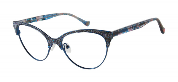 Betsey Johnson Flare Eyeglasses