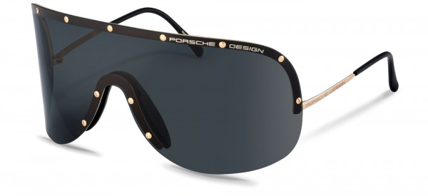 Porsche Design P8479 Sunglasses, A gold (grey)