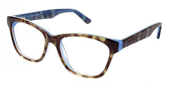 b2d2a49dc9 Jessica Simpson J1018 Eyeglasses - Jessica Simpson Authorized ...