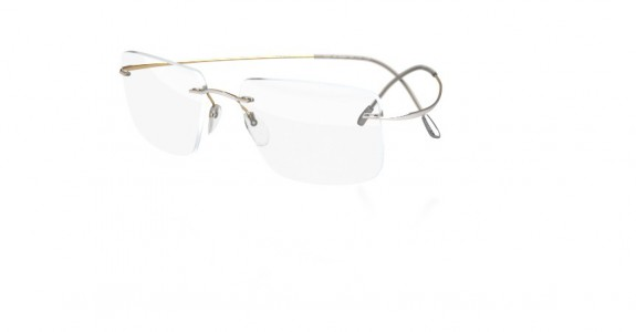 Silhouette TMA Gold Collection 5389 Eyeglasses - Silhouette Rimless ...