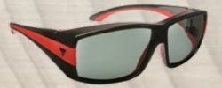 Haven HNS BRK GBLK/RED ML PL/GRY ASM (BRECKENRIDGE) Sunglasses