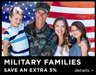 Military Families Save An Extra 15%